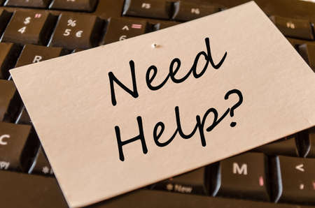 need help: Need help Concept on black keyboard note