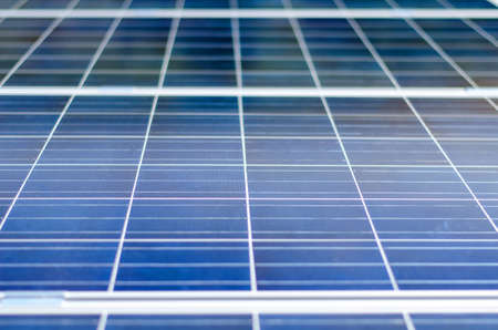 photocell: Photovoltaic panel Stock Photo