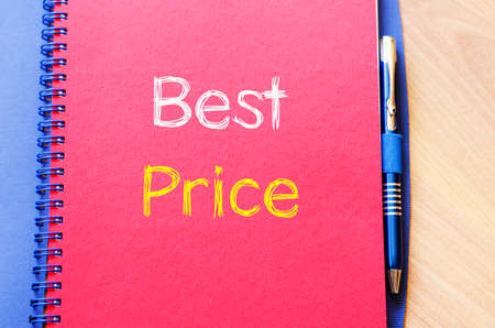 special education: Best price text concept write on notebook