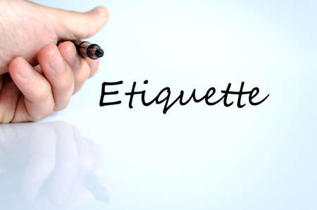believable: Etiquette text concept isolated over white background Stock Photo