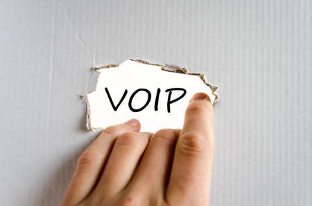 voip: Voip text concept isolated over white background