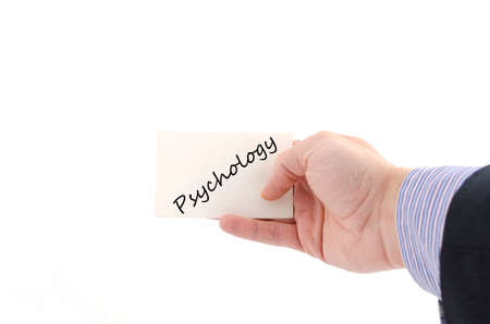 antisocial: Psychology text concept isolated over white background Stock Photo