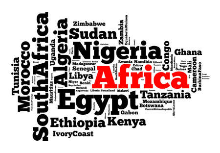 country nigeria: Nations in Africa