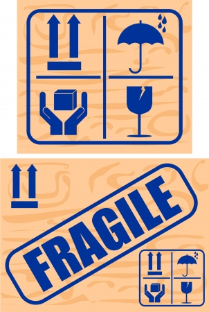 fragil: Fragile and Glass stickers