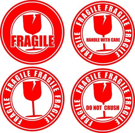 Fragile, icon