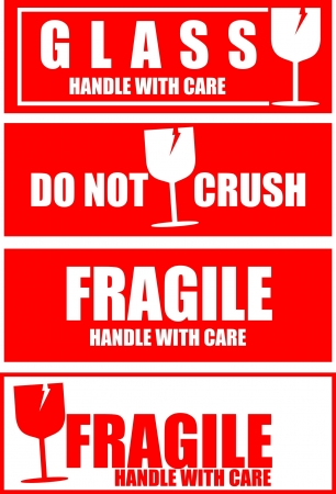 Fragile,sticker