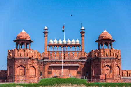 unesco world heritage site: Red Fort in Delhi. UNESCO world Heritage Site, the Red Fort is an iconic symbol of India. Delhi, India. Editorial