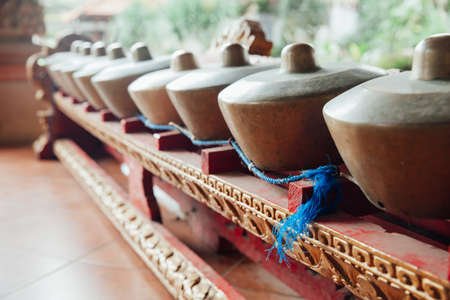 Traditional balinese percussive music instruments instruments for
