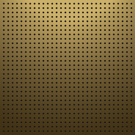 Blank brown pegboard background