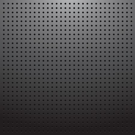 Blank dark pegboard background