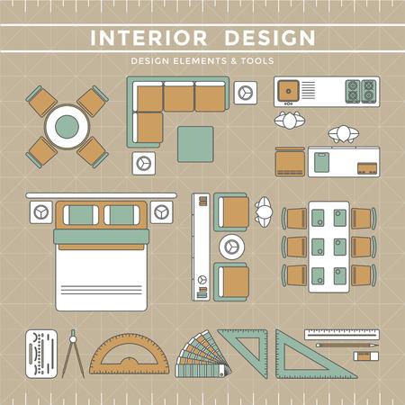 Interior Design Elements équipement Outils
