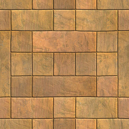 features: Brick wall texture generated. Seamless pattern.