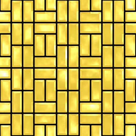 ingot: golden ingot background. Seamless pattern.