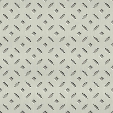 steel sheet: abstract metal ornament background generated. Seamless pattern.