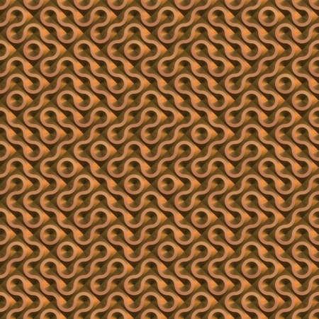 alloy: metal truchet texture generated. Seamless pattern.