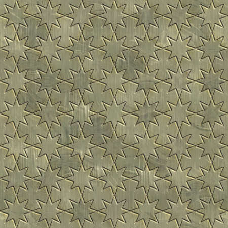 tough: Abstract metal ornament background generated. Seamless pattern. Stock Photo