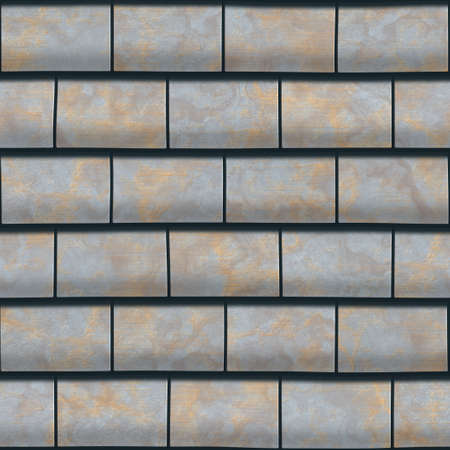 屋根のテクスチャを生成します。シームレス パターン。