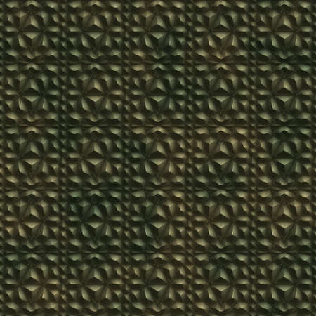 abstract metal ornament background generated. Seamless pattern.