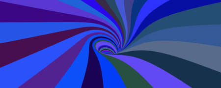 Abstract striped background with tunnel. Vector colorful illustration.