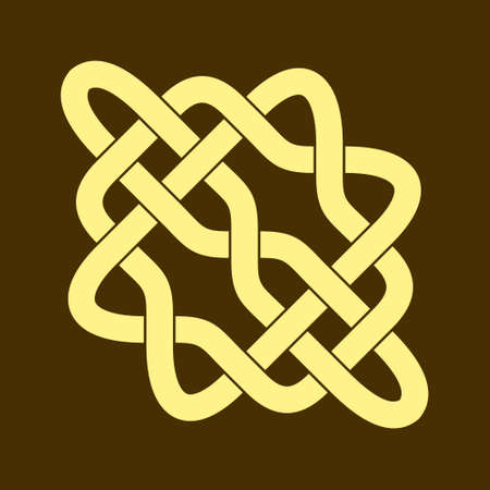 Celtic knot. Abstract ornament. Vector illustration.
