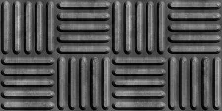 Metal floor plate background. Seamless pattern. 3D Rendering illustration. Stock fotó