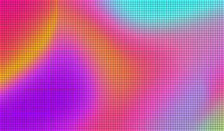 Abstract colorful pixelated background. Modern gradient Multicolor Mosaics Backdrop with pixels. Vector illustration.