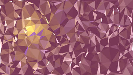 Abstract polygonal background. Triangular geometric pattern. Vector colorful illustration. Stock fotó - 152689767