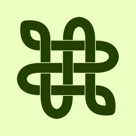 Celtic knot. Abstract ornament. Vector illustration. Stock fotó - 152689819