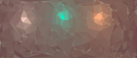 Abstract polygonal background. Triangular geometric pattern. Vector colorful illustration. Stock fotó - 152689828