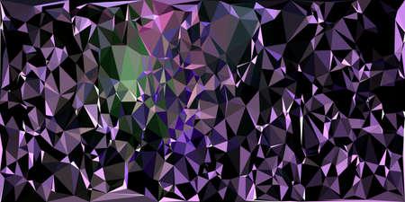 Abstract polygonal background. Triangular geometric pattern. Vector colorful illustration. Illusztráció