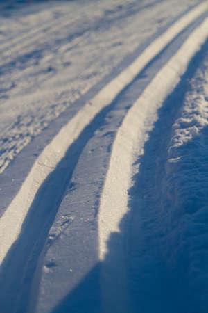 wintersport: Outdoor ski track