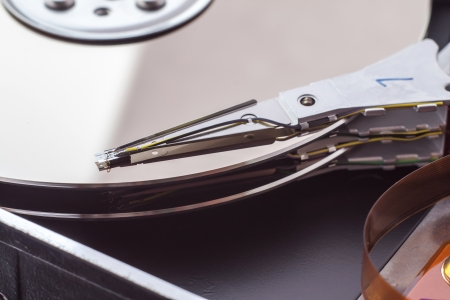 Hard disk drive.  photo