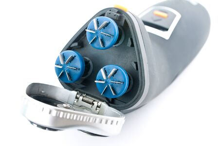 electric shaver: Electric shaver on white background.