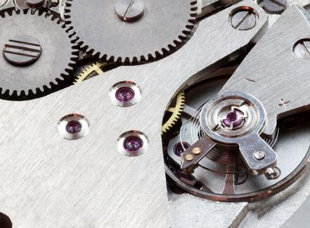 Macro of clockwork mechanisms.