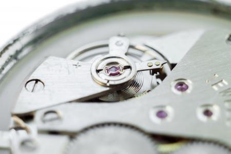 macroshot: Clockwork, macro-shot.  Stock Photo