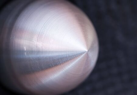 Detail of a bass speaker. photo