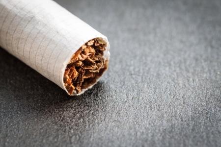 Cigarette, super macro shot