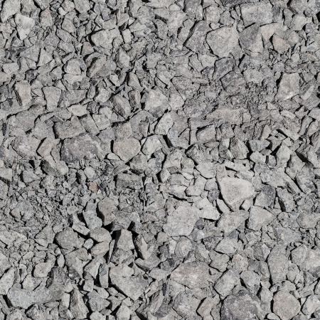 Seamless tileable texture. Gravel. photo