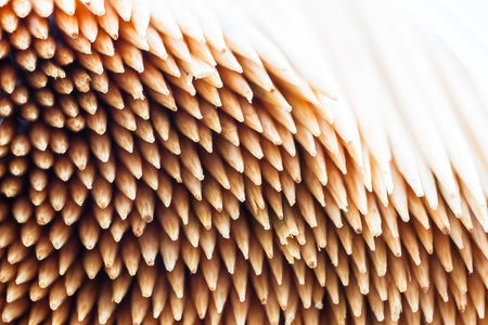 Close up of the toothpicks background Stock Photo - 21166043