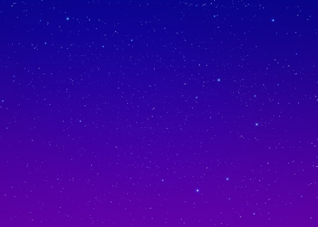 Nachthimmel mit Sternen Standard-Bild - 21384036