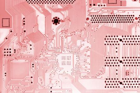 Light-red circuit board