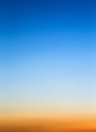 Sunset sky as background Фото со стока - 25444684