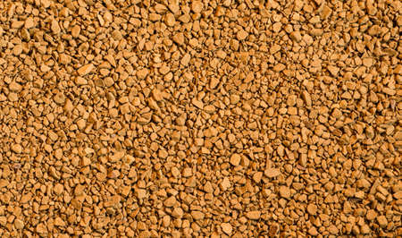 granules:  Instant coffee granules, background