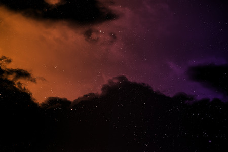 dense: Space background with nebula and stars  Stock Photo