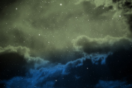 Space background with nebula and stars Stock Photo - 27673742