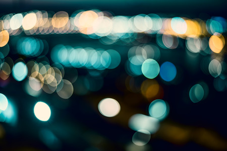 Blurring lights as abstract background. photo