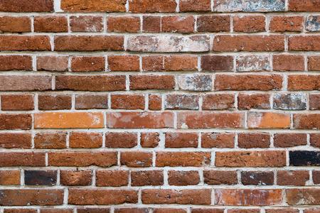 Oude bakstenen muur. Textuur voor achtergrond.