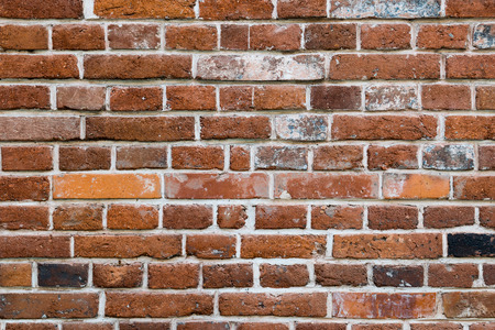 Old brick wall. Texture for background.