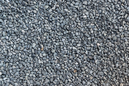 Pile of crushed stone.