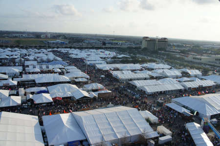 Houston, Texas - feb 24 - 26, 2011: Houston livestock Show and Rodeo. Worlds Championship Bar-B-Que Contest Editorial